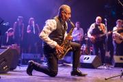 Zoheir Ferdjioui dans un solo qui démontre toute... (Photo : Collection personnelle Zoheir Ferdjioui & Amel Tnani) - image 3.0