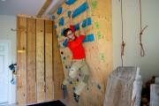 Le mur d'entraînement de Guillaume Michaud... (PHOTO SYLVAIN MAYER, LE NOUVELLISTE) - image 2.0