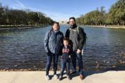À Washington... (Photo fournie par la famille) - image 2.0