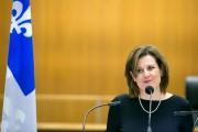 La ministre de la Justice Stéphanie Vallée.... (PHOTO FRANÇOIS ROY, archives LA PRESSE) - image 3.0