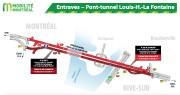 Entraves au tunnel Louis-Hippolyte-Lafontaine... (ILLUSTRATION FOURNIE PAR LE MINISTÈRE DES TRANSPORTS) - image 2.0