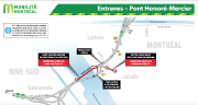 Entraves au pont Honoré-Mercier... (ILLUSTRATION FOURNIE PAR LE MINISTÈRE DES TRANSPORTS) - image 3.0