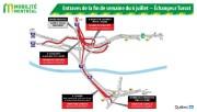 Toutes les bretelles qui donnent accès à l'autoroute15... (illustration fournie par le ministère des Transports) - image 1.0