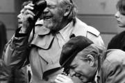 Ingmar Bergman (à droite) avec son directeur de... (Photo archives Reuters) - image 2.0