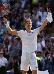 Kevin Anderson... (Photo Oli Scarff, AFP) - image 1.0