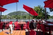 La terrasse du bistro-brasserie Brasseurs du Moulin, dans... (Photo Hugo-Sébastien Aubert, La Presse) - image 4.0