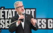 Jean-MartinAussant, candidat du Parti québécois dans Pointe-aux-Trembles... (photo Graham Hughes, archives La Presse canadienne) - image 1.1