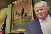 Un Donald Trump grandeur nature en carton a... (AFP) - image 2.0