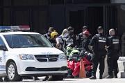 Sept militants de Greenpeace Canada ont été arrêtés.... (Photo Patrick Sanfaçon, La Presse) - image 1.0