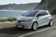 Une Renault Zoé tout électrique. Photo Renault... - image 3.0
