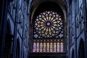 Les vitraux de la cathédrale Saint-Vincent... (Photo Alain Roberge, La Presse) - image 1.1