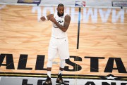 Lebron James, mégastar de la NBA.... (Photo Robyn Beck, Archives AFP) - image 1.0