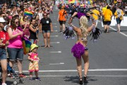 Le défilé de Fierté Montréal a attiré 300000spectateurs... (PHOTO ROBERT SKINNER, archives LA PRESSE) - image 6.0