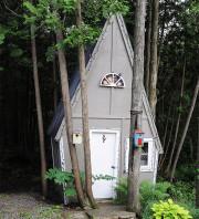 Cette cabane a été réalisée par papy et... (PHOTO FOURNIE PAR CARMEN BELZILE) - image 2.0