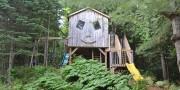 La cabane construite par André Sarrasin et ses... (PHOTO FOURNIE PAR ANDRÉ SARRASIN) - image 3.0