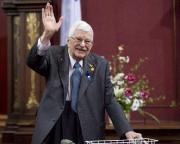 Paul Gérin-Lajoie lors d'une cérémonie à l'Assemblée nationale... (PC) - image 2.0
