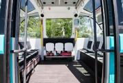 Le petit véhicule construit par Navya peut transporter... (Photo Edouard Plante-Fréchette, La Presse) - image 1.1