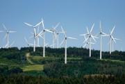 Paysage duparc éolien de Cap-Chat, en Gaspésie... (PHOTO BERNARD BRAULT, Archives LA PRESSE) - image 1.0