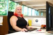 Karine Brouillard, agente de crédit... (Photo Martin Chamberland, La Presse) - image 5.0