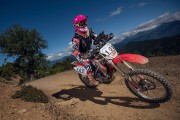 Brigitte Lacombe, motocycliste Enduro... (Photo fournie par Brigitte Lacombe) - image 8.0