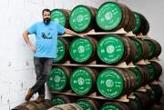 Jean-François Cloutier, cofondateur de la Distillerie du St.... (Photo Bernard Brault, La Presse) - image 2.0