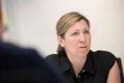 GenevièveBélisle, directrice de l'Association québécoise des CPE, lors... (PhotoIVANOH DEMERS, LA PRESSE) - image 1.0