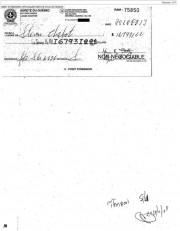 Chèque de 167931$ émis à l'ordre de Steven... (Photocopie d'un document déposé à la cour) - image 1.0