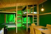 À l'intérieur, on trouve trois lits doubles. Une... (Photo Bernard Brault, La Presse) - image 2.0
