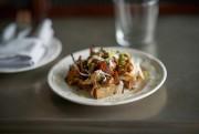 La bruschetta aux champignons avec petits pois et... (Photo André Pichette, La Presse) - image 3.0