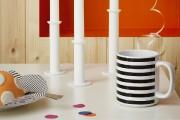 Avec son imprimé graphique, la tasse Morgondoft ravive... (Photo fournie par IKEA) - image 5.0