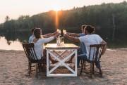 Catherine et Philippe s'engagent à faire planter cinq... (Photo fournie par Woodstock & cie) - image 2.0