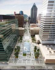 Images de l'esplanade de la Place Ville Marie... (Photo fournie parSid Lee Architecture) - image 2.0