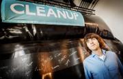 Boyan Slat, fondateur de The Ocean Cleanup, en... (PhotoRemko de Waal, archives Agence France-Presse) - image 3.0