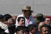 Gérard Depardieu a participé dimanche aux festivités àPyongyang.... (AFP) - image 5.0