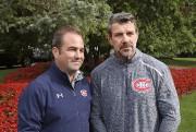 Geoff Molson et Marc Bergevin... (Photo Robert Skinner, La Presse) - image 2.0