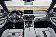 Les sièges avant de la M5, fort confortables... (Photo fournie par BMW) - image 3.0