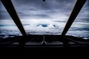 Vue de Florence à bord d'un Lockheed C-130JSuper... (REUTERS) - image 2.0