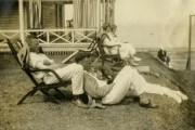 La famille de Blanche Lacoste et de Joseph... (Photo fournie par BAnQ, Fonds Famille Landry) - image 3.0