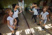 Les élèves de Channie Tondreau ont notamment dansé... (Photo Patrick Sanfaçon, La Presse) - image 4.0