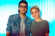 Alexander Castillo Vasquez avec Shakira... (Photo tirée du site shakirauniverse.blogspot.com) - image 2.0