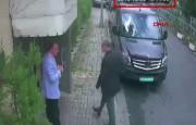 Sur cette image, Jamal Khashoggi apparaît, entrant dans... (Photo Agence France-Presse) - image 1.0