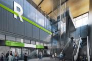 Le Réseau express métropolitain (REM) comptera cinq stations... - image 2.0