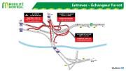 La circulation sera réduite à une seule voie par direction sur le pont Mercier... - image 3.0