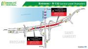 La circulation sera réduite à une seule voie par direction sur le pont Mercier... - image 4.0