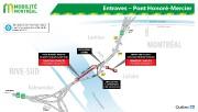 La circulation sera réduite à une seule voie par direction sur le pont Mercier... - image 5.0