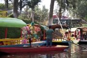 Xochimilco... (Photo Alexis Gacon, collaboration spéciale) - image 1.0