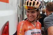 La cycliste Karol-Ann Canuel s'est classée au début... (PHOTO TIRÉE DE FACEBOOK) - image 1.0