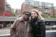 Le musicien de jazz Oliver Jones avec la... (Photo Martin Chamberland, La Presse) - image 2.0