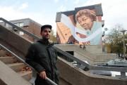 L'artiste Kevin Ledo est un des muralistes les... (Photo Martin Chamberland, La Presse) - image 3.0