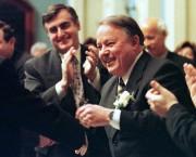 Bernard Landry en 1999 lors du dépôt de... (Photo Jacques Boissinot, archives La Presse canadienne) - image 7.0